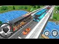 Coach Bus Simulator 2018 Mobile Bus Driving | Bus Transporter - Android GamePlay#6 FHD