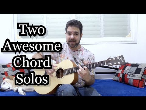 Two Fingerstyle Chord-Solo Licks (Tommy Emmanuel-Style) -- Guitar Lesson W/ TAB