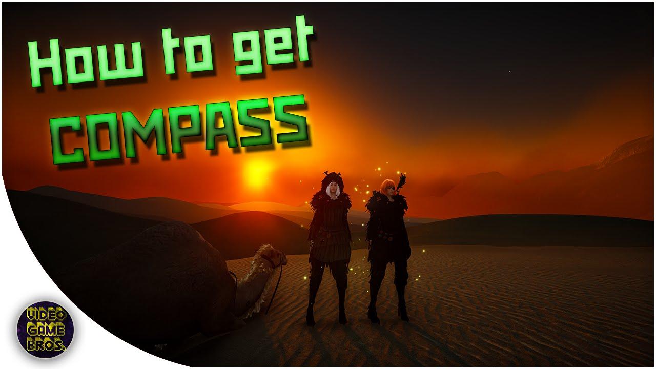 Black Desert Online Desert Compass Youtube