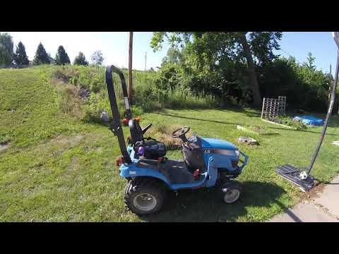 Why we bought a LS MT125 tractor