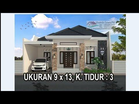 desain rumah modern 10mx10m ala minimalis tapi mewah dan