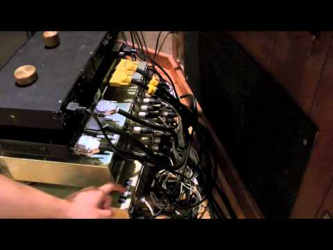 UA Music Recording Studio How To Video for Interns Signal Flow Part 1 Mics  & Preamps