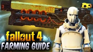 Fallout 4 Rare Legendary Armor Weapons - Enemy Loot Re-Roll Trick Guide Fallout 4 Rare Weapons
