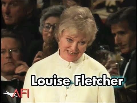 Louise Fletcher (AKA Nurse Ratched) Salutes Jack Nicholson