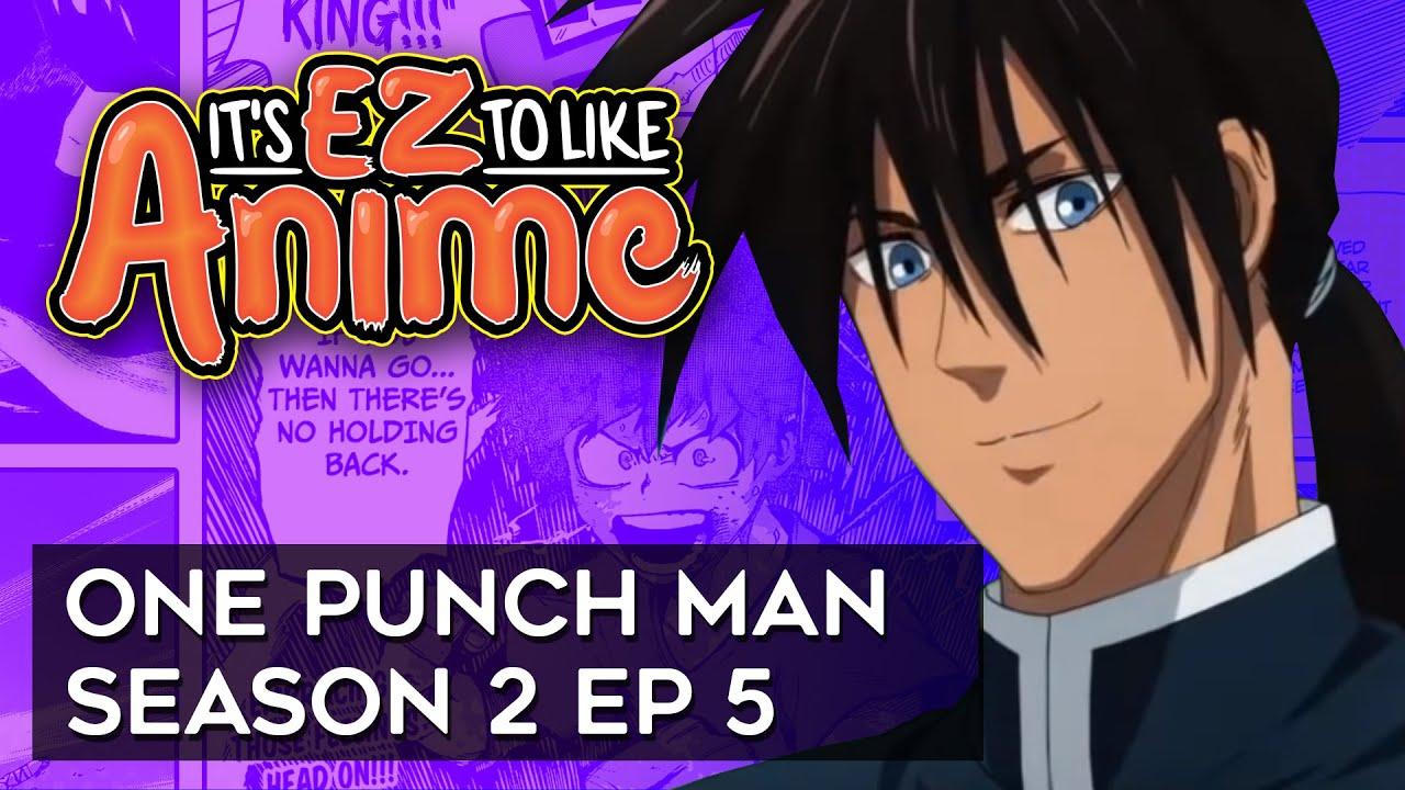 It's EZ to Like Anime - One Punch Man Season 2