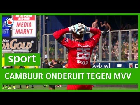 VOETBAL: Cambuur Onderuit Tegen MVV, Geen Promotie Naar De Eredivisie