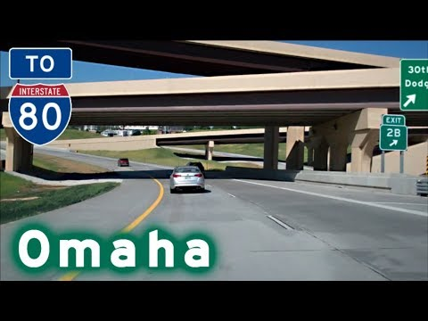 To I-80 West thru Omaha