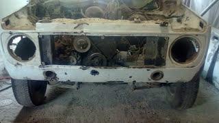 кузовной ремонт и восстановление НИВА 21213 1997гв Restoration auto