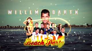 30 juli Willem Barth Gipsy Beach Party met diverse artiesten