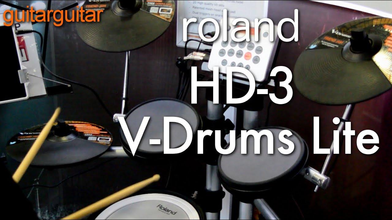 Roland HD-3 V-Drums Lite