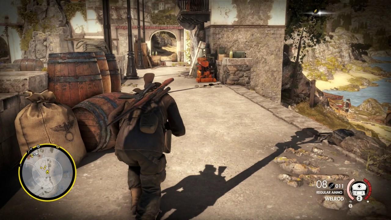Sniper Elite 4 How To Unlock Trench Gun In Loadout Shotgun Guide