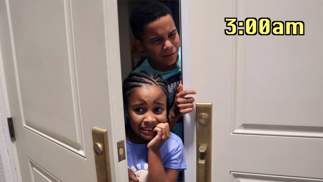 Kids ANSWER THE DOOR at 3AM, Then This Happens | FamousTubeFamily