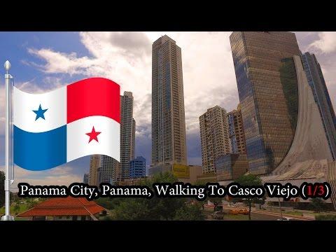 Panama City, Panama - Walking to Casco Viejo (1/3) November 2016
