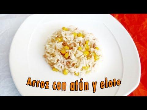 arroz blanco atun