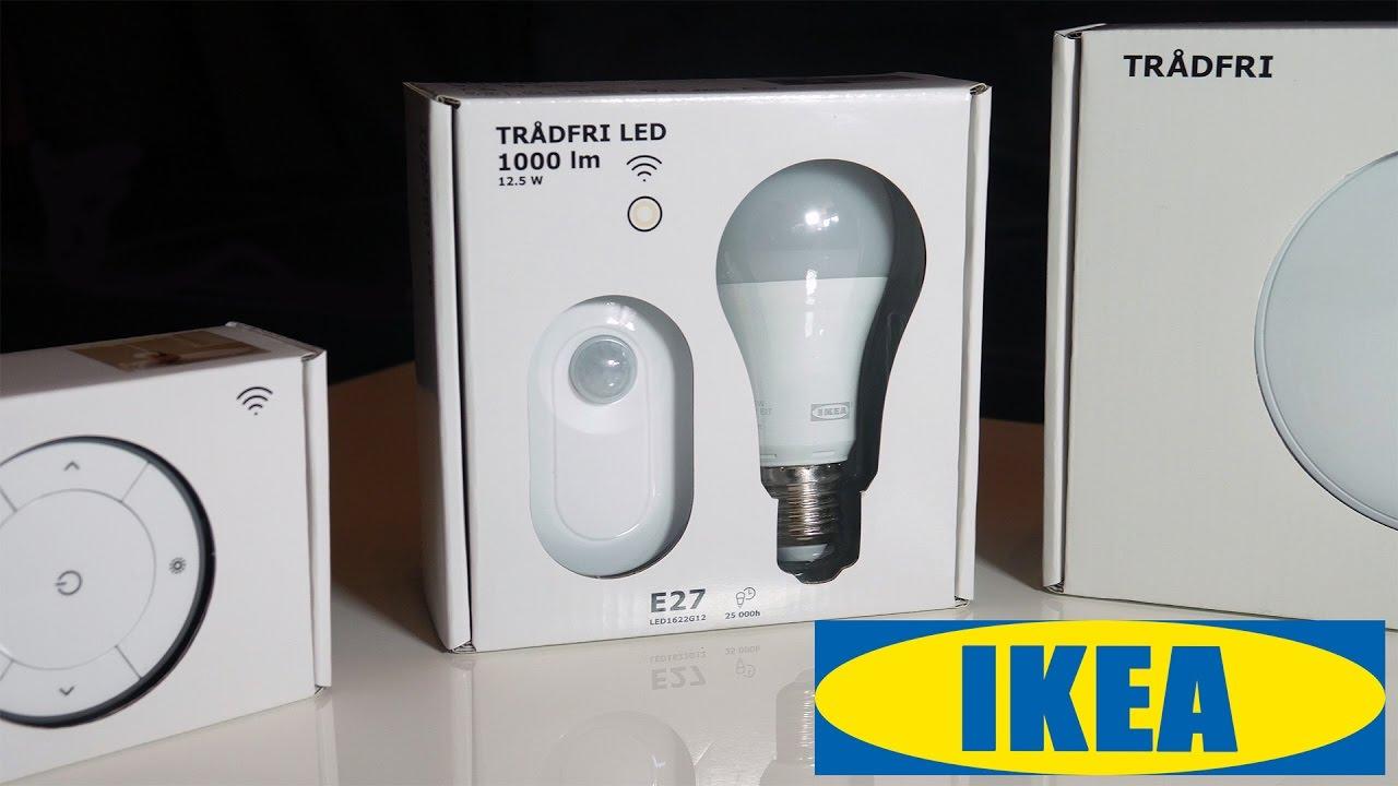 IKEA TRÅDFRI 💡 Lights + Bewegungsmelder Unboxing, Tests und erster ...