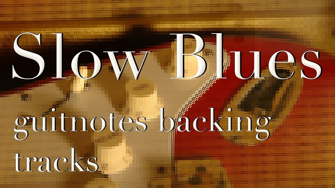Slow Blues Backing Track - Stevie Ray Vaughan, Albert king