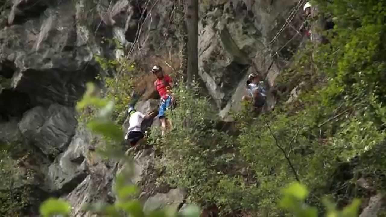 Klettersteig Mayrhofen : Mayrhofen im zillertal kindergerechter klettersteig mit