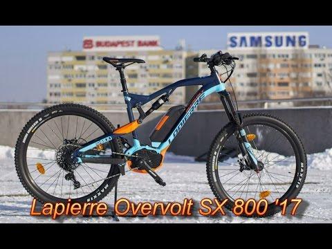 4099de1b114 Lapeirre Overvolt SX 800 elektromos kerékpár - YouTube