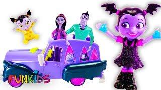 Disney Junior's VAMPIRINA ROCK N' JAM TOURING VAN