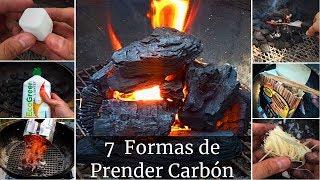 7 formas de prender Carbón | La Capital