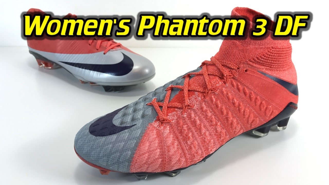 Women s Nike Hypervenom Phantom 3 DF (Radiation Flare Pack) - One Take  Review + On Feet - YouTube 7f3983f2453c