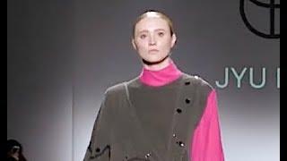 JYU RI RI Oxford Fashion Studio Fall 2019 New York - Fashion Channel