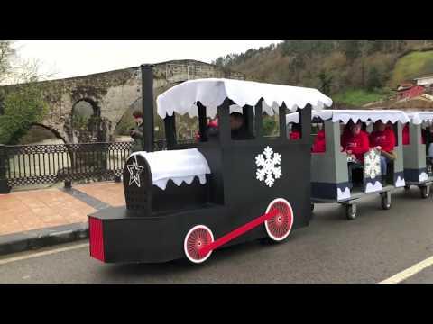 Cangas Express, tren navideño en Cangas de Onís