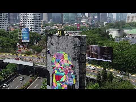 Billboard Polusi Udara Jakarta