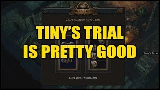 Path of Exile Betrayal: Tiny's Trial is Preeetty Good! - Speedcrafting Bench screenshot 3