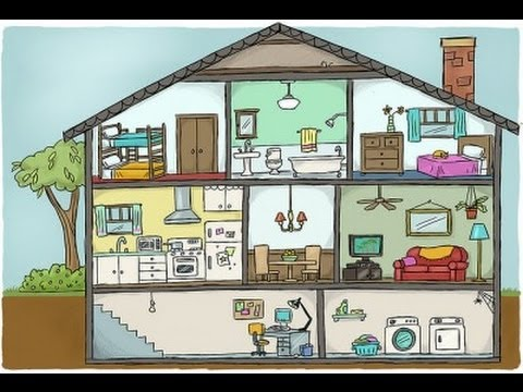 Parts of the house in Spanish  YouTube