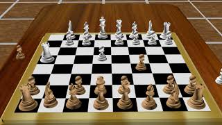 Chess 3D animation