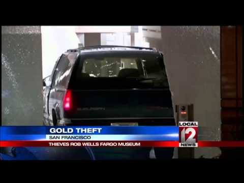 Thieves smash stolen SUV into San Francisco museum for gold