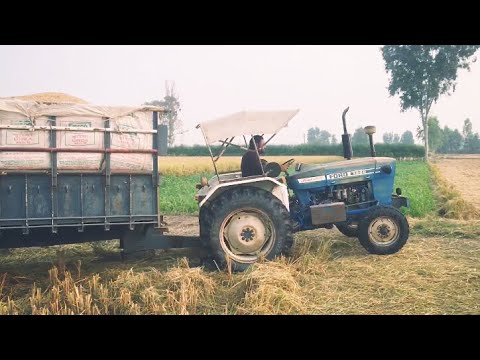 FORD 3600 WITH 16FT TROLLEY FULLY LOADED