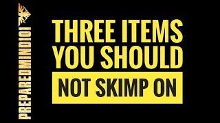 3 Survival Emergency Items You Should Not Skimp On Preparedmind101