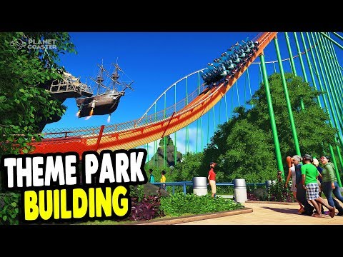 Can't Stop Playing This Game | Ultimate Theme Park Build | Planet Coaster Gameplay