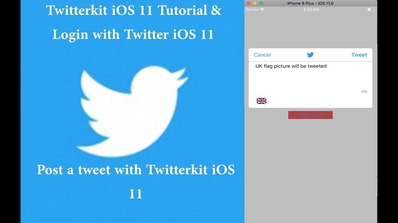 ios twitter login tutorial