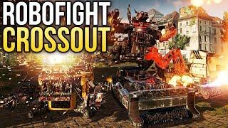 Crossout Robofight: ТЕХНОТРАКТОР vs ЧУДИЩА