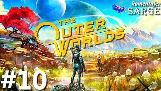 The Outer Worlds PL (XONE X gameplay 10/10) - Lot w kosmos