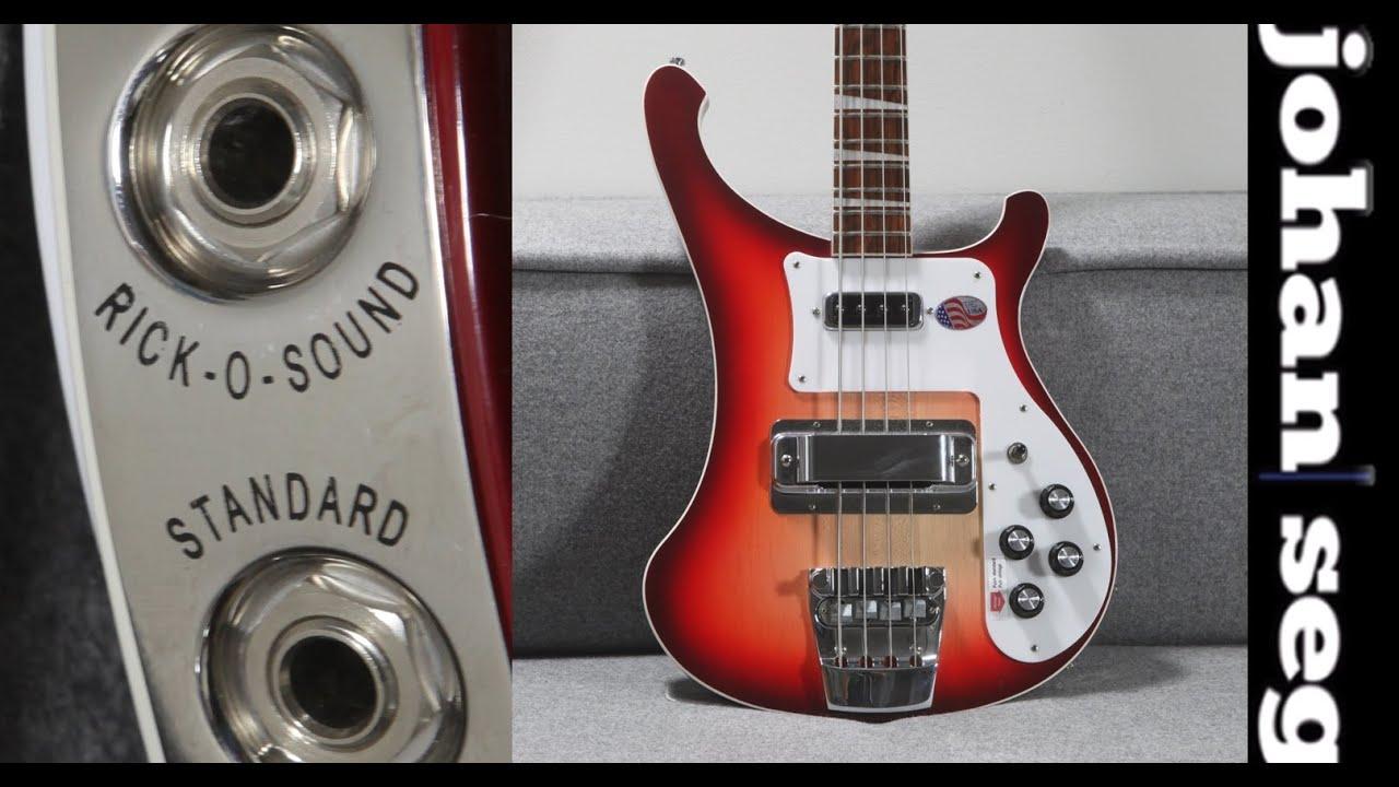 Rick O Sound - Motörhead Rickenbacker Bass Sound