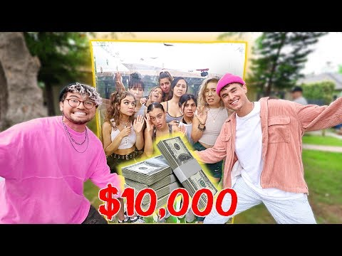 Last Youtuber To Leave The Box, Wins $10,000 (GIRLS EDITION)