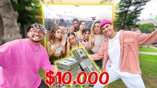 Download Last Youtuber To Leave The Box, Wins $10,000 (GIRLS EDITION) Mp3 and Videos