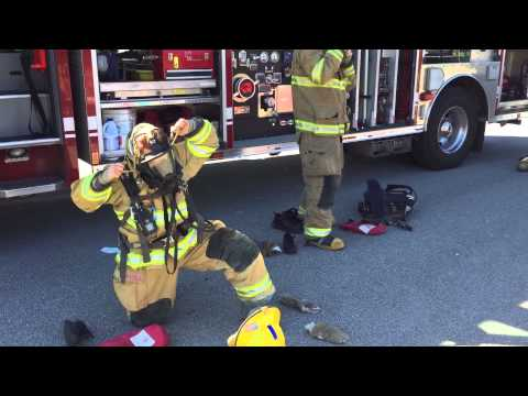 Dress Out Drill for Students at Hixson Elementary School