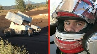 My First Time in a Sprint Car!