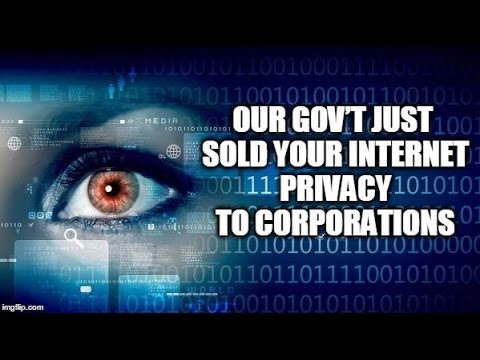 WEB EXCLUSIVE: Our Gov't Just Sold Your Internet Privacy To Corporations