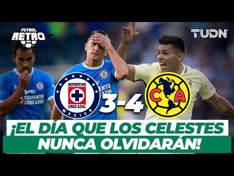 Futbol Retro: ¡La voltereta que nunca se olvidará! | Cruz Azul 3-4 América - AP2016 | TUDN
