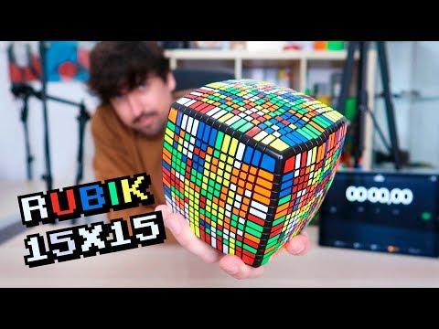 RESUELVO EL CUBO DE RUBIK MÁS GRANDE DE MI COLECCIÓN | RETO 15x15