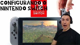 Configurando o Nintendo #Switch