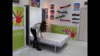 Vertikalni zidni krevet (metalna konstrukcija) - Vertical Wallbed (metal construction)