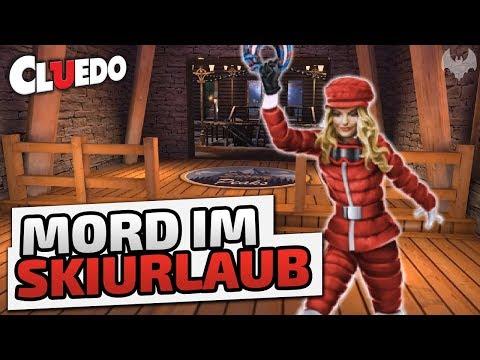 Mord im Skiurlaub - ♠ Clue/Cluedo: The Classic Mystery Game ♠ - German - Dhalucard