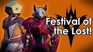 Destiny Taken King: Festival of the Lost - Halloween Event (New Emotes)